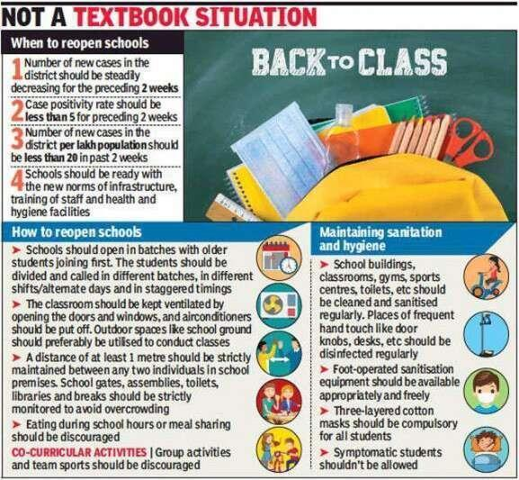Doctors make a case against reopening of Delhi schools | Delhi News Times of India
