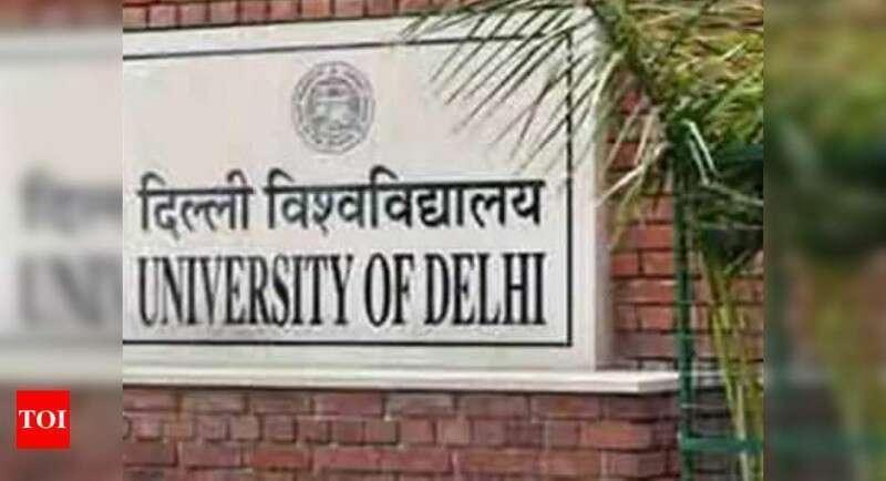 Doors to some popular colleges at Delhi University still open | Delhi News Times of India