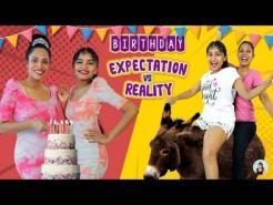 Expectation vs Reality BIRTHDAY Celebration | ShrutiArjunAnand