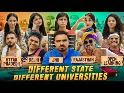 Different State Different Universities Amit Bhadana ( Delhi ,UP,  Rajasthan, JNU, Open Learning )
