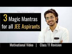 How to study for JEE Main/Advanced | Free Revision Series | Motivational Video