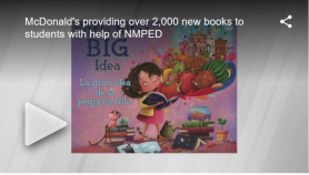 McDonald's providing over 2,000 new books to students with help of NMPED | New Mexico Living