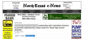 Governor Abbott announces partnership with CyberStart America to promote cybersecurity career track For Texas high school students