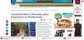 Jawaharlal Nehru University plans programme on Vivekananda