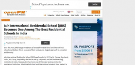 Jain International Residential School (JIRS) Becomes One Among The Best Residential Schools In India