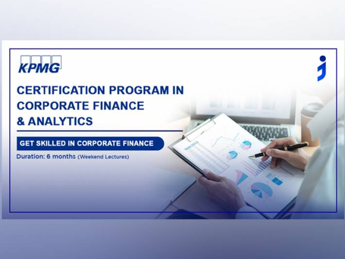 Jaro Education launches a new online program in Corporate Finance and Analytics in collaboration with KPMG India