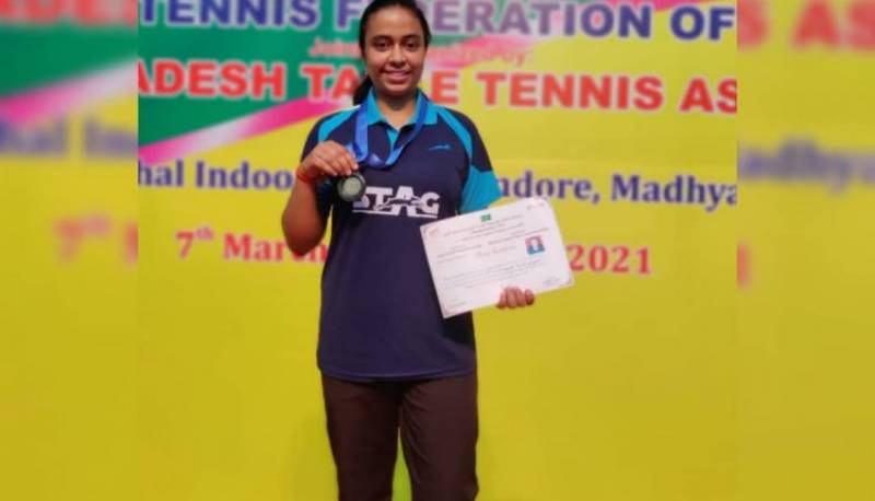 DPS Indirapuram student wins Bronze medal in Junior and Youth National Table Tennis Championships