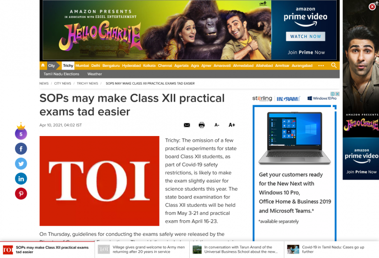 SOPs may make Class XII practical exams tad easier
